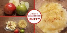 This LDS object lesson on unity demonstrates how we may look different on the outside, but at the core, we are all children of God. Lds Object Lessons, Fhe Lessons, Bible Lessons For Kids, Primary Lessons, Bible For Kids, Lds Sunday School Lessons, Bible Science, Young Women Lessons, Family Home Evening