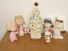 Lenox Peanuts Snoopy 7-Piece Nativity The Christmas Pageant Figurine Set NEW #Figurine