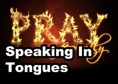 """Speaking in Tongues or praying in the Spirit is a means of prayer which overrides the restrictions of your native language and transcends the limitations of your mind. Watch the video """"Speaking in Tongues - The Perfect way to Pray"""". http://youtu.be/HKtkLt5cphQ"""