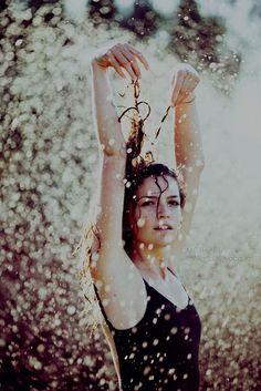 dancing in the rain....