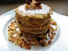 Feel Eat!: Jaglane placki z jabłkami bez dodatku cukru i mąki!
