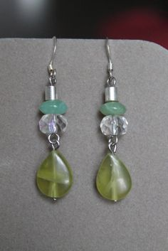 Falling Prehinite by StoneExpressions on Etsy