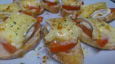 Quick Meals, No Cook Meals, Tapas Bar, Snack Recipes, Snacks, Portuguese Recipes, Spanish Food, Canapes, Tostadas