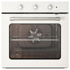 A traditional-style oven with the modern conveniences you need every day. The fan-forced air convection allows you to cook multiple dishes at the same time. Fits perfectly with MATTRADITION microwave oven. Kitchen Oven, First Kitchen, Kitchen Appliances, Flexible Pipe, Extractor Hood, Four Micro Onde, Cooking Dishes, Slow Cooking, Ikea Family