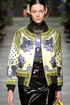 Givenchy Fall 2011 Silk bomber jacket