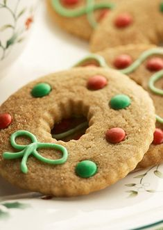 Cinnamon Wreaths! I was looking for something gingery, but not gingerbread. These are PERFECT!