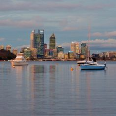 Perth city skyline, Perth... #Australia  by dalboyne (instagram)