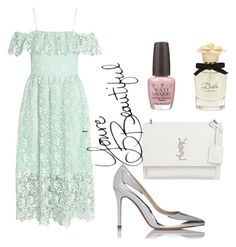 """""""weeding mood"""" by idagaspar on Polyvore featuring L.K.Bennett, Yves Saint Laurent, Dolce&Gabbana and OPI"""