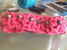 Dog collar crochet