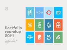 Dribbble - Portfolio Roundup 2014. by Jeroen van Eerden