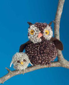 Pom-Pom Animals from Martha Stewart's Favorite Crafts for Kids   Scribd