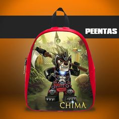 Shadowind legent Of Chima -  Design variations School Bag