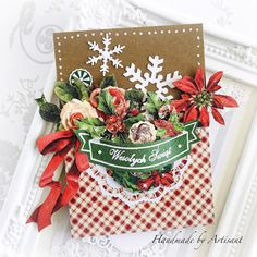 Jingle all the way Beautiful Christmas Cards, Twelve Days Of Christmas, First Christmas, Christmas Crafts, Jingle All The Way, Card Making Inspiration, Holiday Cards, Paper Crafts, Gift Wrapping