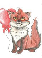 Fox by GreCaChan