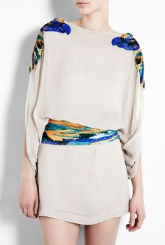 Antik Batik Cassia Sequin Embellished Dress