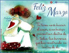 Bienvenido Marzo!!! #postaleslilas http://www.postaleslilas.com.ar