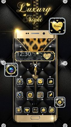 Chanel Wallpapers, Android Theme, Cute Themes, Phone Themes, Music Wallpaper, Funny Animal Pictures, Black Leather, Icons, App