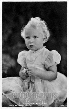 Google Image Princess Anne as a toddler