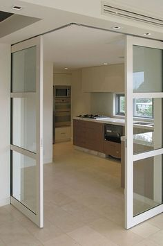 Installing interior barn door hardware can transform the look of your room. Read these steps in buying interior barn door hardware. Interior Barn Door Hardware, Sliding Barn Door Hardware, Interior Doors, Door Latches, Door Hinges, Cafe Interior, Door Design, House Design, Slider Design