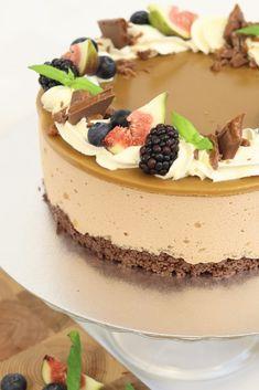 Cheesecakes, Yummy Cakes, No Bake Cake, Tiramisu, Ethnic Recipes, Sweet, Desserts, Food, Inspiration