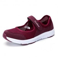 2019 New Spring Summer Air Mesh Casual Shoes For Women Flat Soft Bottom Sneakers Breathable Mesh Shoes Women Womens Summer Shoes, Womens Flats, Loafers For Women, Shoes Women, Sneakers Women, Ladies Shoes, Mary Jane Shoes, Types Of Shoes, Casual Shoes