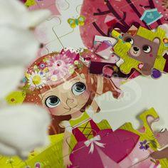 Dřevěné puzzle - Vilac - Květinová princezna - 54 dílů Princess Zelda, Fictional Characters, Art, Art Background, Kunst, Performing Arts, Fantasy Characters, Art Education Resources, Artworks