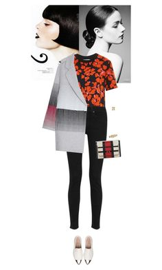 Outfit of the Day by wizmurphy on Polyvore featuring polyvore moda style A.L.C. Marco de Vincenzo rag & bone Miu Miu Marni Valentino fashion clothing ootd redandblack