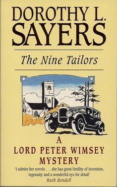 love love love this book! The Nine Tailors by Dorothy Sayers