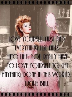 Lucille Ball, my idol, I love her. Great Quotes, Quotes To Live By, Funny Quotes, Inspirational Quotes, Sassy Quotes, Awesome Quotes, Diva Quotes, Motivational Board, Interesting Quotes