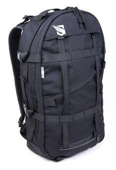 handmade backpack - black