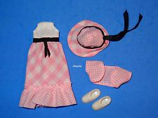 Vintage Tutti SONNTAGSKLEID Sunday Dress #2650 from 1979 MINT & COMPLETE VHTF