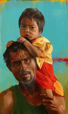 Amazing Portrait Paintings by Denis Gonchar
