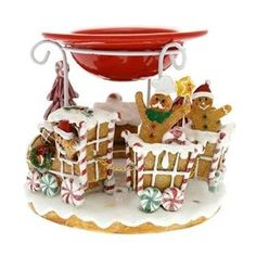 From 28.49 Yankee Candle Gingerbread Train Wax Burner