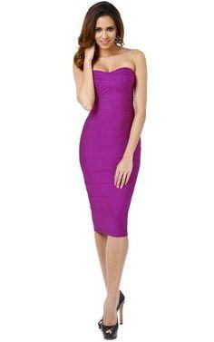 Purple Midi Bandage Dress - The Kewl Shop - 2 Purple Bandage Dress, Bandage Dresses, Bodycon Dress, Sexy Birthday Dress, Birthday Dresses, Casual Dresses, Short Dresses, Fashion Dresses, Dress Makeup