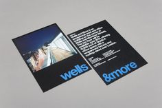 wells&more. New York state of mind – dn&co. Type Design, Layout Design, Printed Matter, Graphic Design Inspiration, Booklet, Flyer Design, Typography, Mindfulness, Wellness