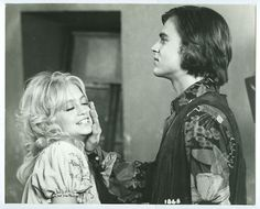 EDDIE-ALBERT-JR-GOLDIE-HAWN original movie photo. 1972 film Butterflies Are Free,