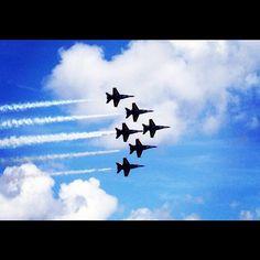 Blue Angels Punta Gorda Airshow from Instagram user di_bling