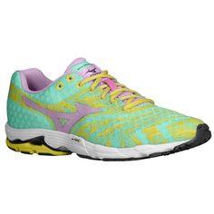 Mizuno Wave Sayonara - Women's - Running - Shoes - Cabbage/Orchid Bouquet/Aurora
