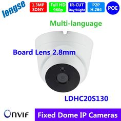 66.00$  Watch more here - http://aipgo.worlditems.win/all/product.php?id=32709541599 - HD 960P 1.3MP IP Dome Camera P2P Network Indoor Security 3 IR Night Vision Board Lens 2.8mm