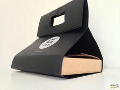 food take away box w/bag by alessandro mason, via Behance