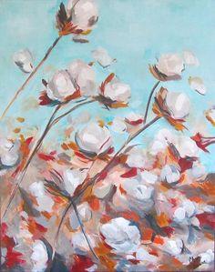 High Cotton Painting  - High Cotton Fine Art Print
