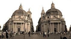 piazza del popolo, via Flickr.