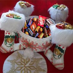 The festive Christmas Candy Box Project from Oriental Embroidery is sure to become a family favorite year after year!