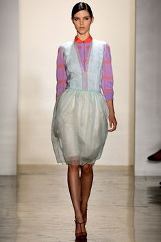 Sophie Theallet Spring 2013 Ready-to-Wear Fashion Show - Agnes Nabuurs
