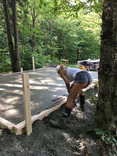 Muddy and sexy Concrete Base For Shed, Concrete Driveways, Backyard Walkway, Backyard Landscaping, Paver Walkway, Hot Country Girls, Trucks And Girls, Car Girls, Diy Garden Projects