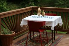 diamond tablecloth