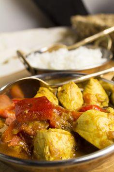 Paprika-Hühnchen auf indisch | Foodina