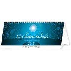 Nový lunární, kalendář 2016, 33 x 12,5 cm, k objednání na webu, možná se najde i v papírnictvím nebo knihkupectvích. Letos jsem ho vyzkoušela a už nechci jiný :-), krásná cena: 99,-