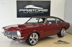 Ford Maverick Super Luxo 1974 Vermelho - Pastore Car Collection