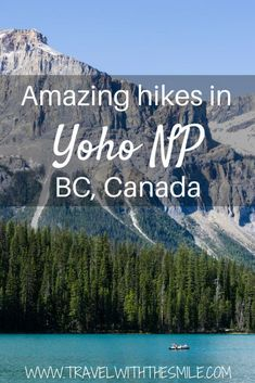 Hiking in Yoho Natio